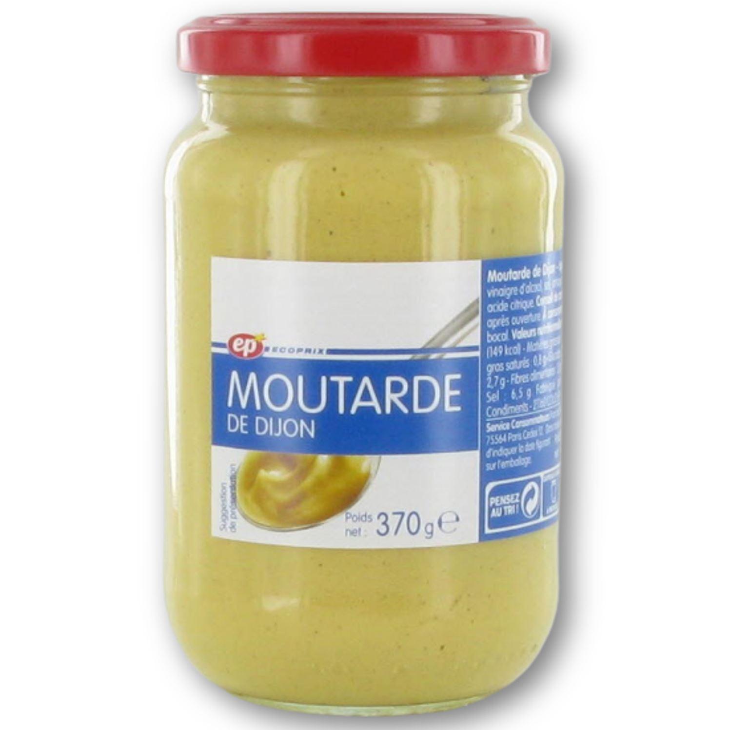 Moutarde forte de Dijon, Ecoprix (370 g)