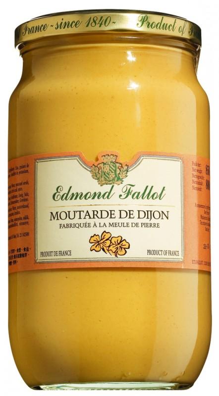 Moutarde de Dijon classique, Fallot (850 g)