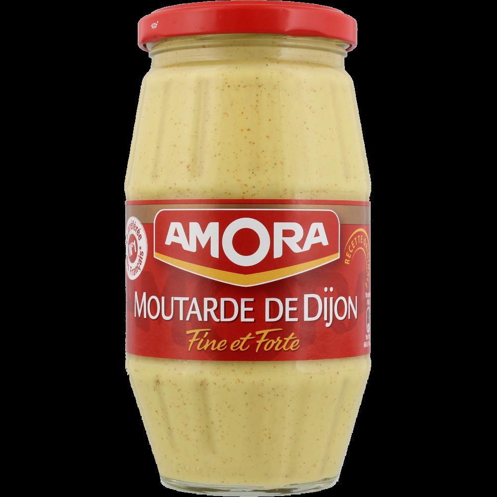 Moutarde fine et forte de Dijon, Amora (440 g)