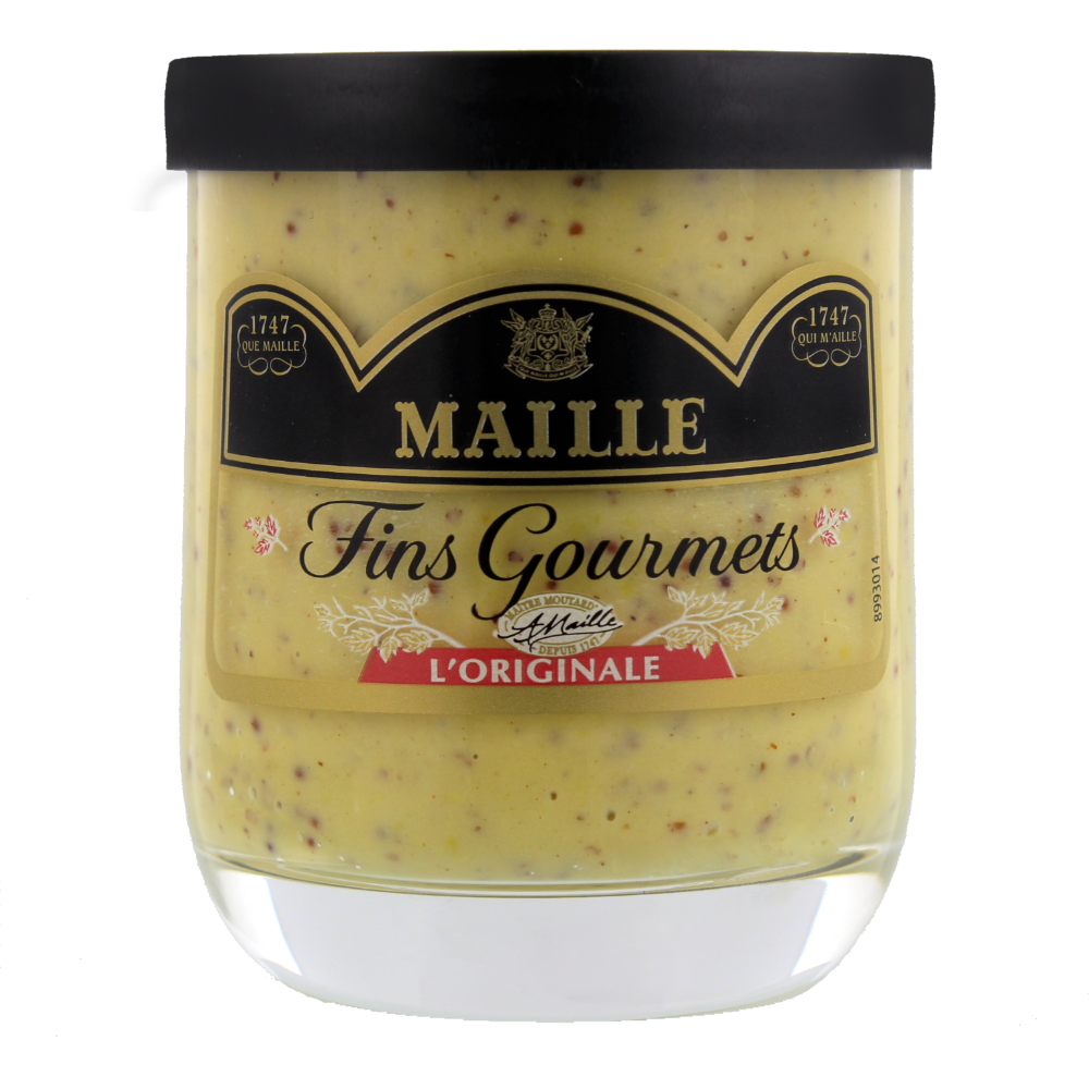 Moutarde Fins Gourmets l'Originale, Maille (155 g)