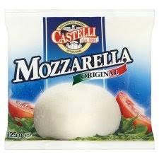Mozzarella, Castelli (250 g)