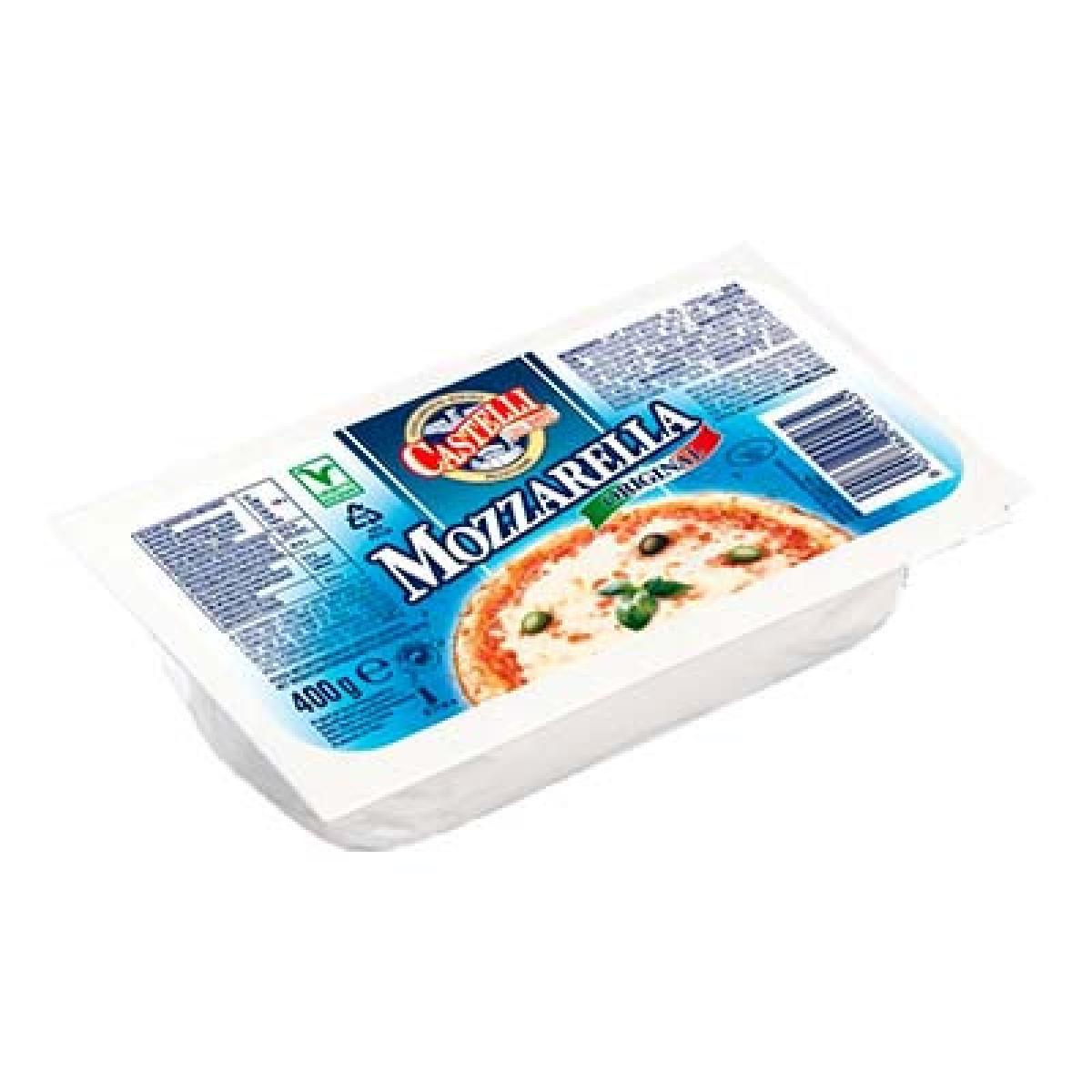 Mozzarella en bloc, Castelli (400 g)