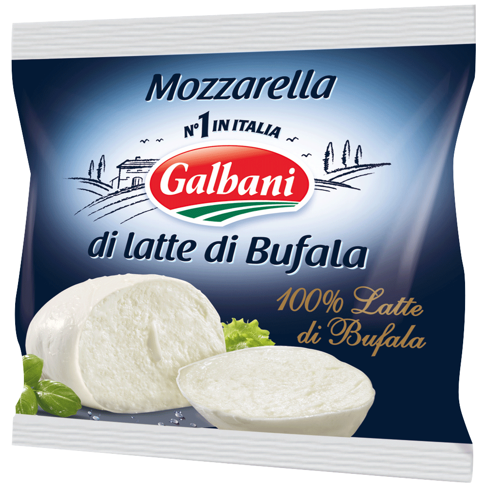 Mozzarella di latte di bufala, Galbani (125 g)