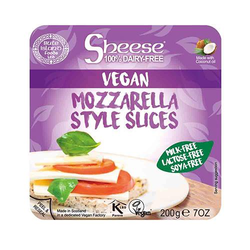 Mozzarella vegan tranchée, Sheese (200 g)