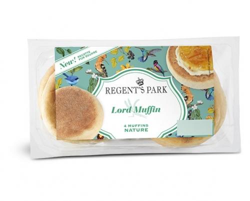 English Muffins nature, Regent's Park (x 4, 250 g)