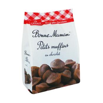 Petits muffin chocolat, Bonne Maman (235 g)