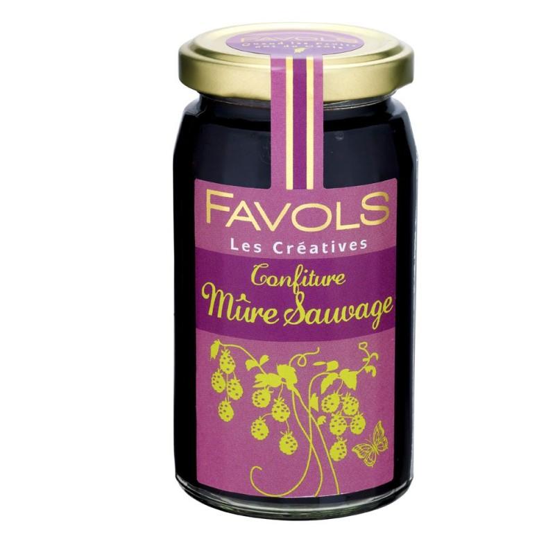 Confiture de mûre sauvage, Favols (270 g)