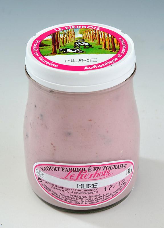 Yaourt à la mûre Fierbois (180 g)