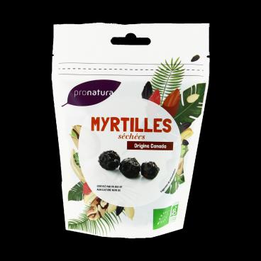 Myrtille séchée Canada BIO, Pronatura (125 g)