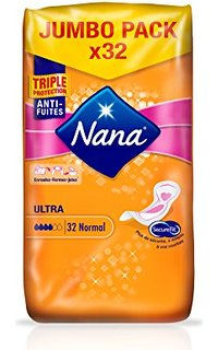 Serviettes Ultra Normales, Nana (x 32)