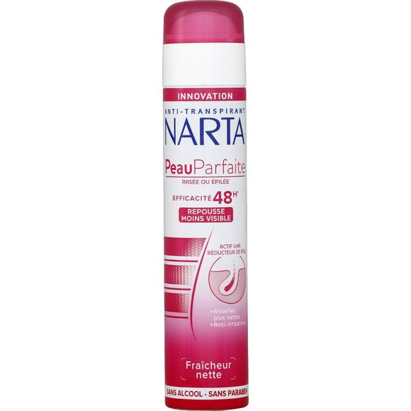 Déodorant spray Peau Parfaite, Narta (200 ml)
