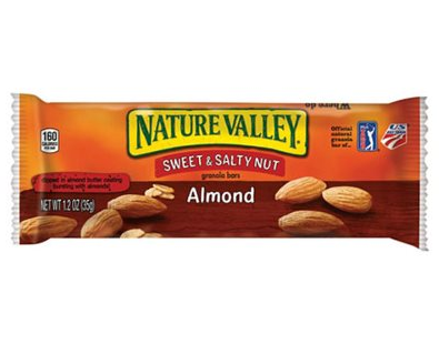 Barre granola amandes, Nature Valley (34 g)