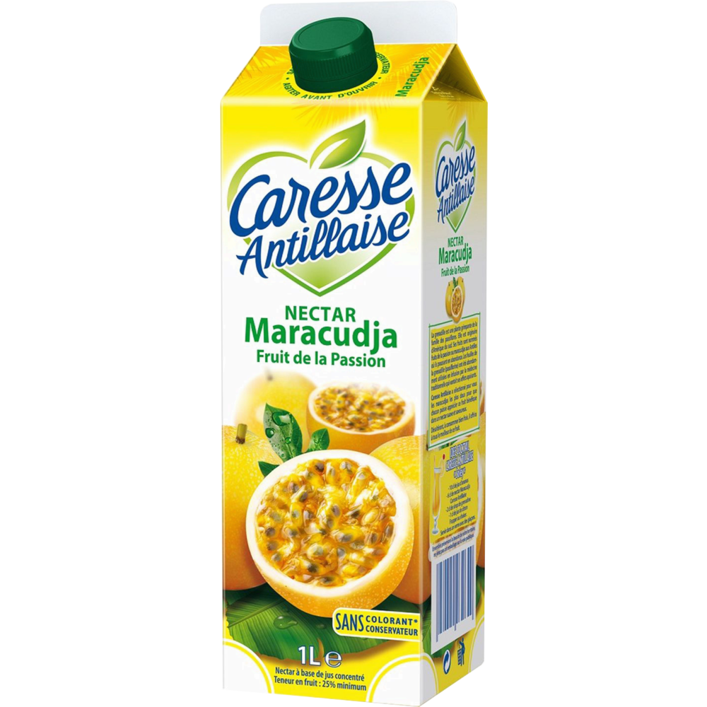 Nectar maracuja fruit de la passion, Caresse Antillaise (1 L)