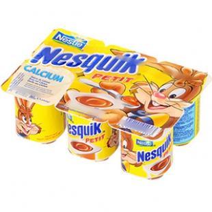 Petit Nesquik au chocolat, Nestlé (6 x 60 g)
