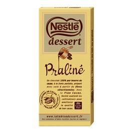 Chocolat praliné à pâtisser Nestlé dessert (170 g)