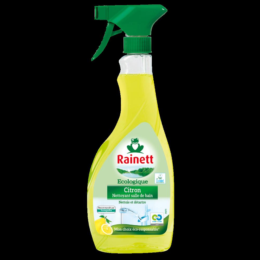 Nettoyant anti-calcaire citron Ecolabel, Rainett (500 ml)