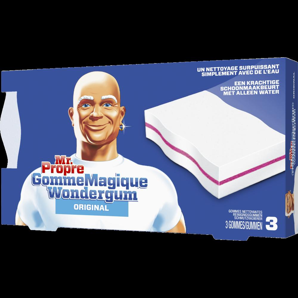 Nettoyant gomme magique original, Mr Propre (x 3)