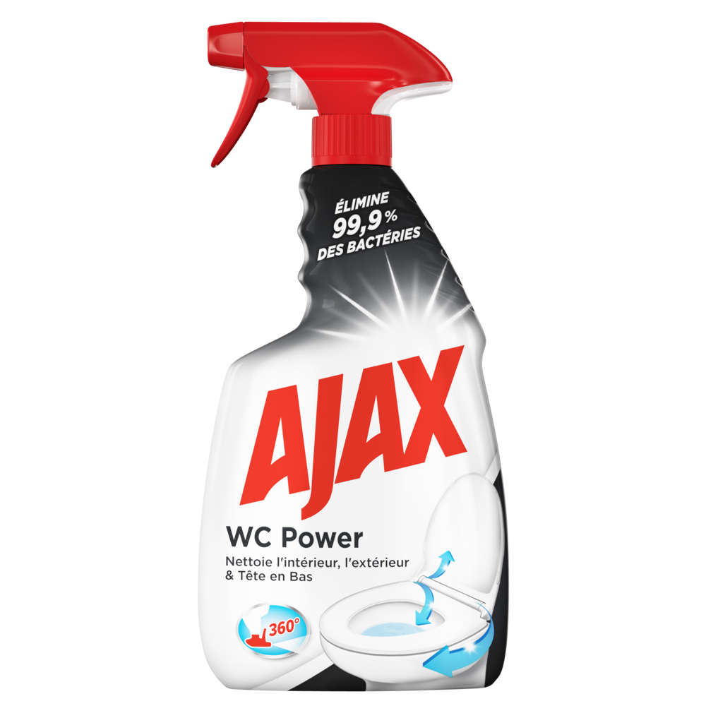Nettoyant WC power, Ajax (750 ml)