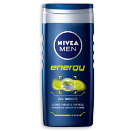 Gel douche Energy, Nivea Men (250 ml)
