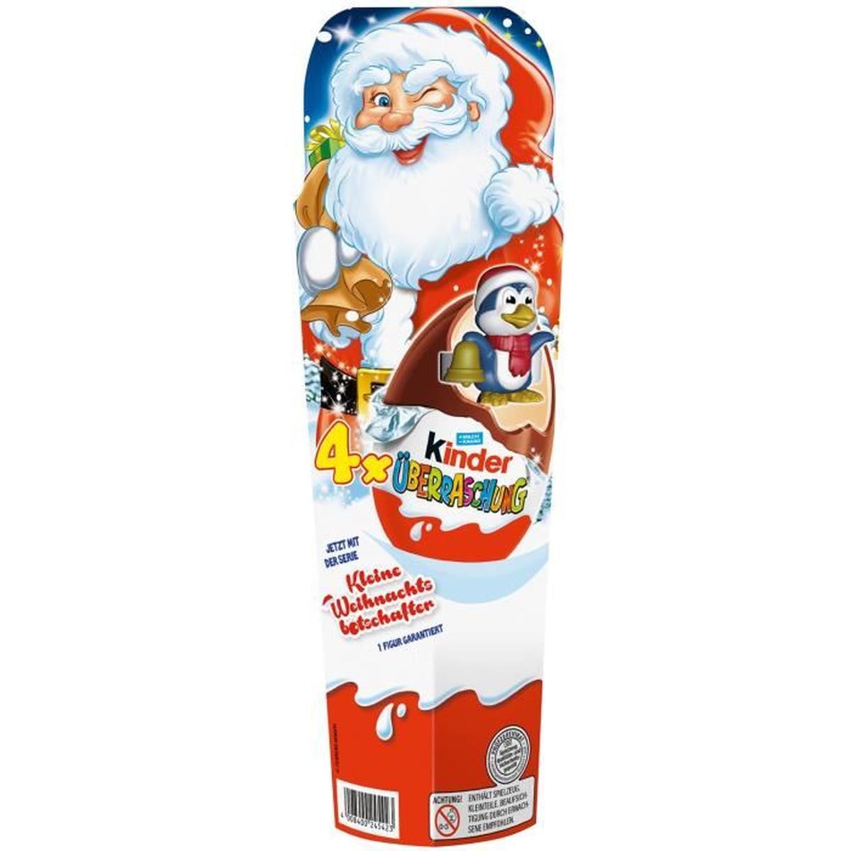 Kinder Surprise Père Noël (80 g)
