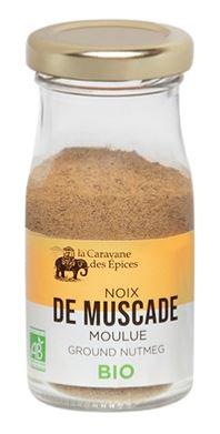 Noix de Muscade Moulue BIO, Albert Ménès (30 g)