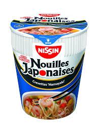 Nouilles Japonaises crevettes hamayaki, Nissin (63 g)