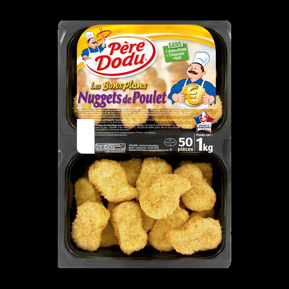 Nuggets de poulet, Père Dodu (1 kg)