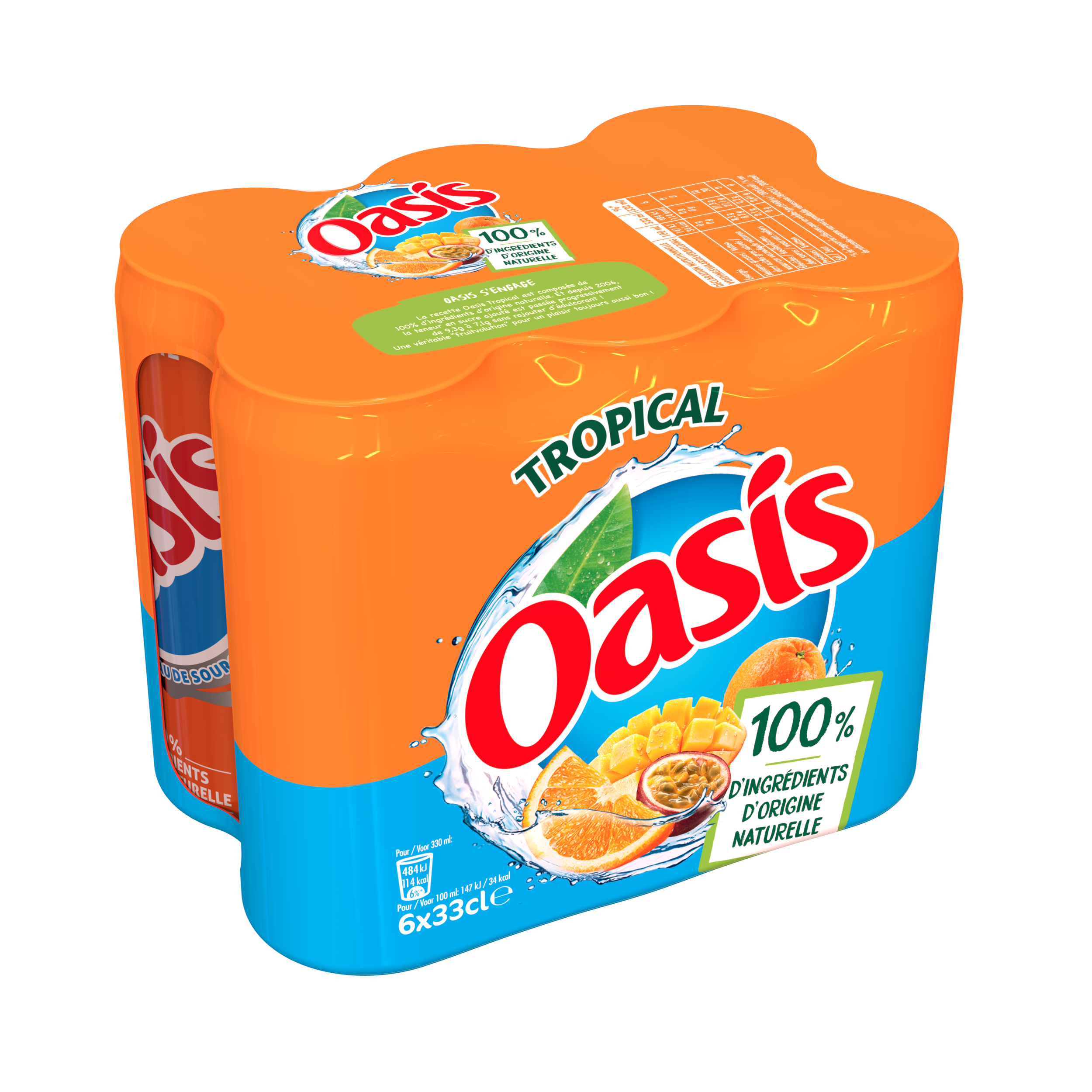Oasis tropical (6 x 33 cl)