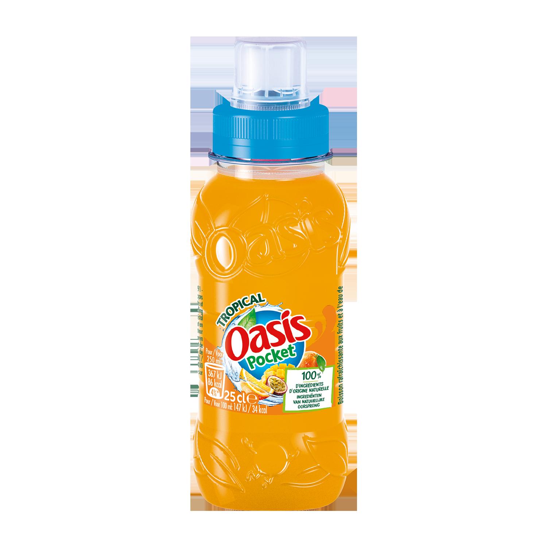 Oasis Tropical pocket (25 cl)