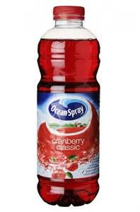 Jus de cranberry Classic Ocean Spray (1 L)