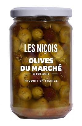 Olives du marché de Papi Lucien, Les Niçois (170 g)