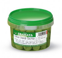 """Olives vertes de Sicile """"000"""", Granata (350 g)"""