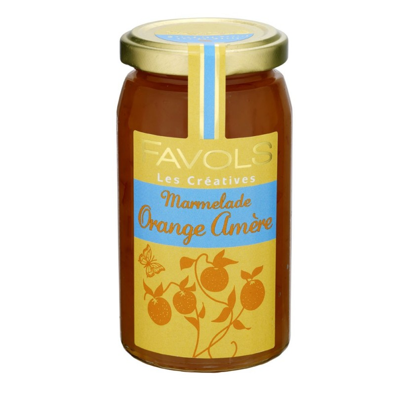 Marmelade d'orange amère 100% fruits, Favols (270 g)