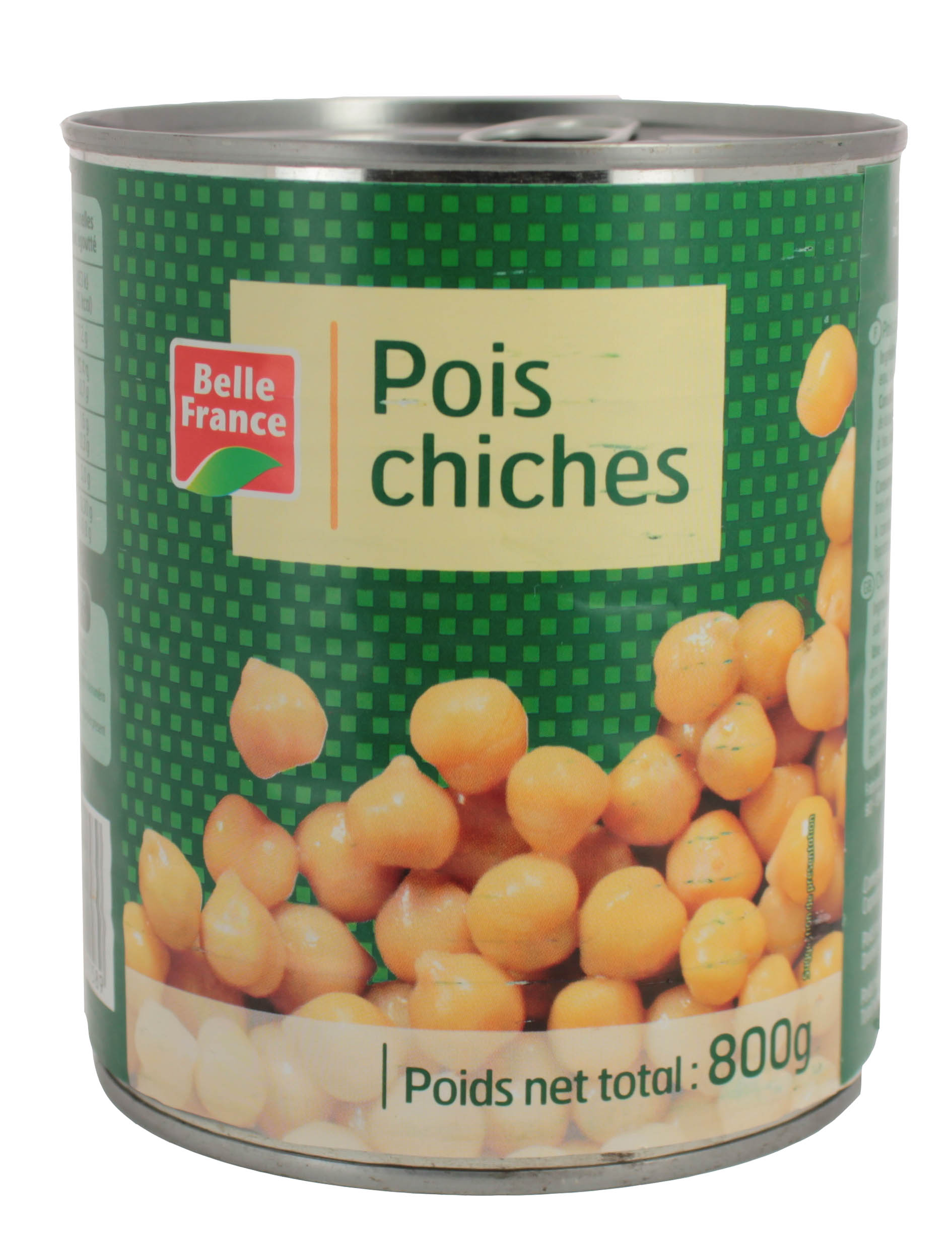 Pois chiches cuits, Belle France (800 g)