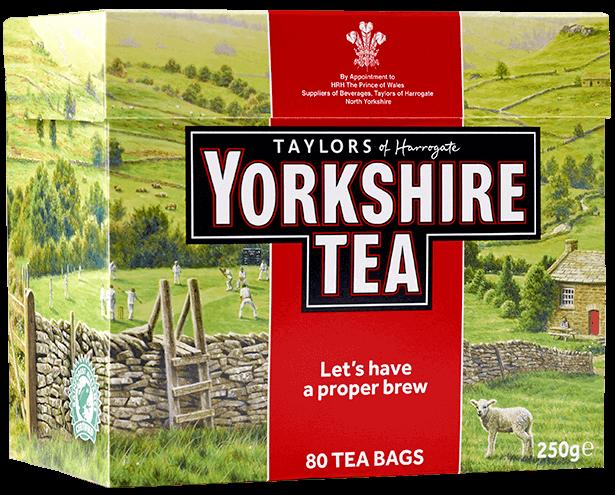 Thé Yorkshire (x 80 sachets)