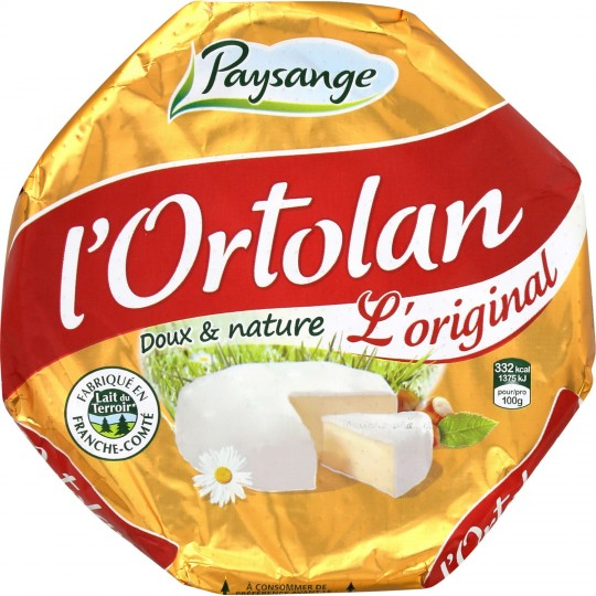 L'ortolan, Paysange - Fromagerie Milleret (250 g)