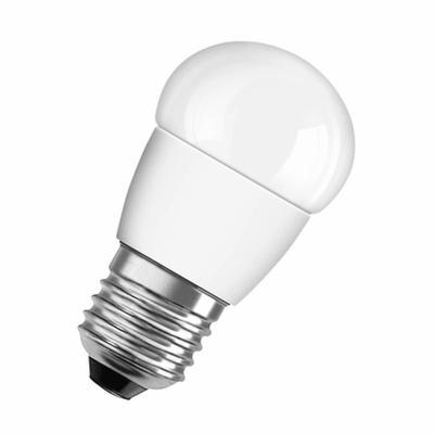 Ampoule Led sphérique dépolie, couleur blanc chaud, 6W, culot E14 (x 1)