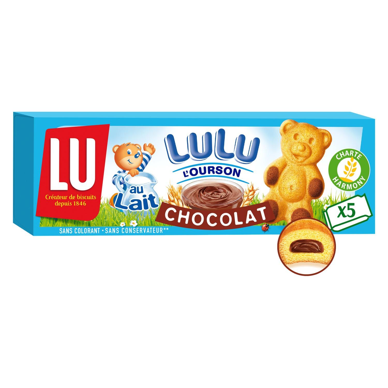 Oursons au chocolat, Lu (x 5, 150 g)