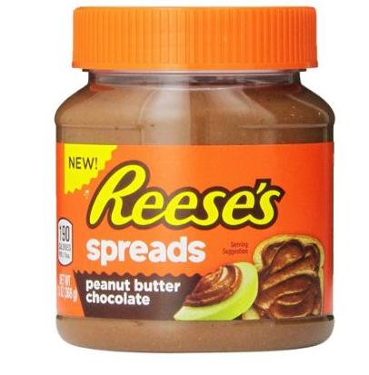 Pâte à tartiner chocolat beurre de cacahuètes, Reese's Spreads (368 g)
