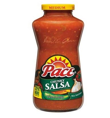 Sauce salsa épicée médium, Pace (453 g)