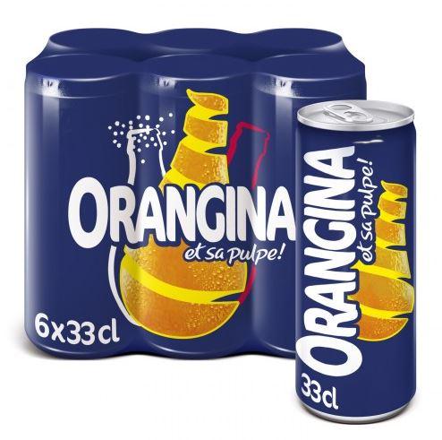 Pack d'Orangina (6 x 33 cl) // DOUBLON NE PAS UTILISER