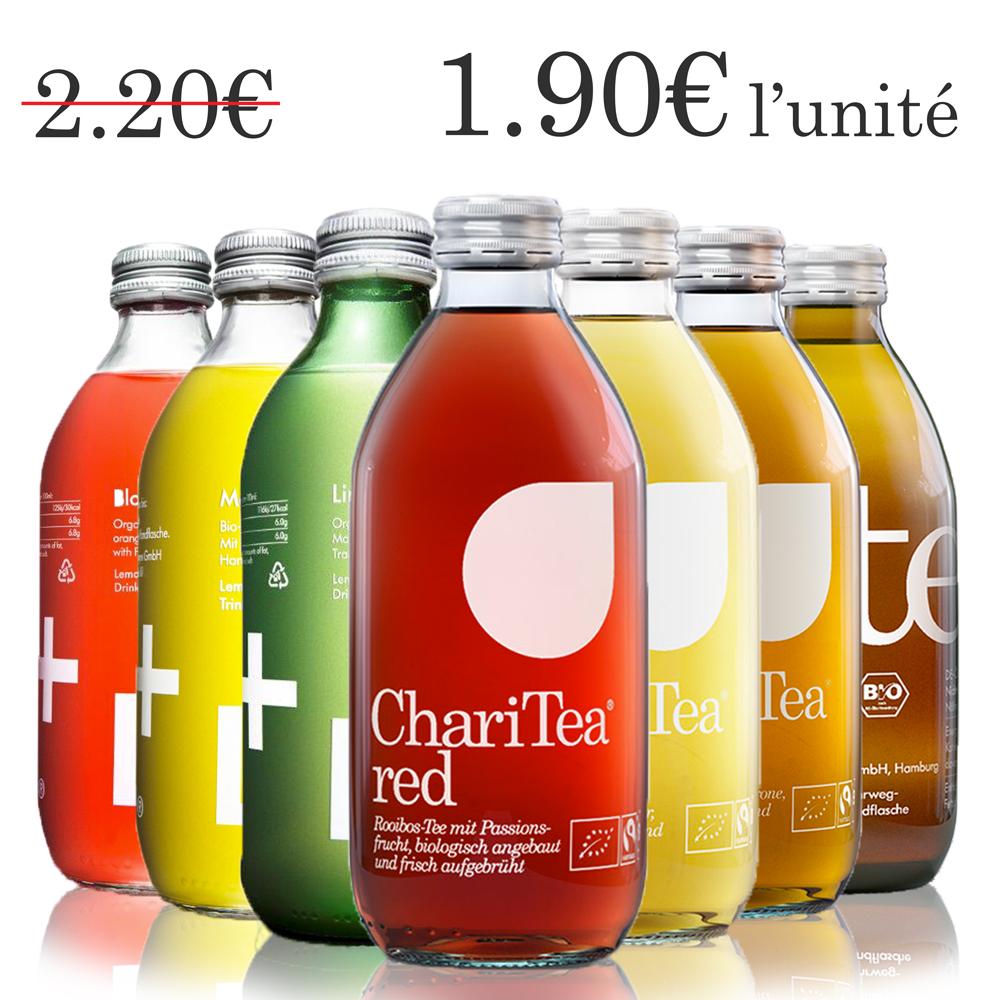 Pack exploration ChariTea & Lemonaid (7 x 33cl)
