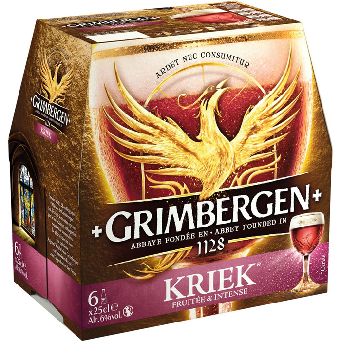 Pack de Grimbergen Kriek (6 x 25 cl)