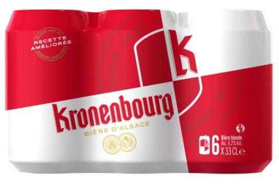 Pack de Kronenbourg, 4.2° (6 x 33 cl)