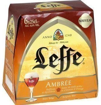 Pack de Leffe Ambrée, 6,6°(6 x 25 cl)