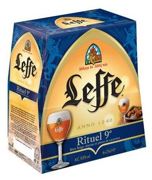 Pack de Leffe Rituel, 9° (6 x 25 cl)