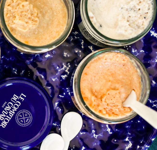 Pack dégustation 3 recettes de tarama et ses blinis offerts, Le Comptoir du caviar