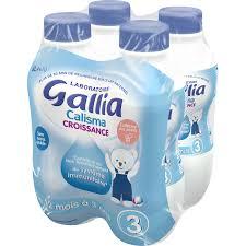 Pack Lait de croissance Calisma 3 - dès 12 mois, Gallia (4 x 1 L)