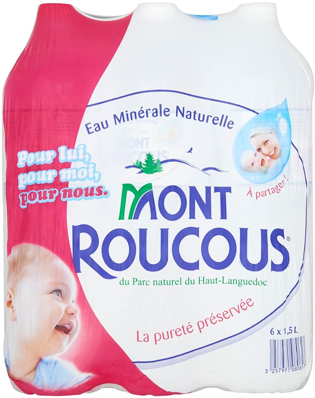 Pack Mont Roucous (6 x 1.5 L)