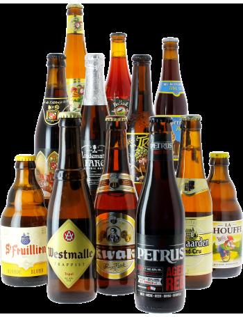 Pack de 10 bières d'exception